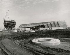 EPCOT Center Construction Photos: Future World - Imagineering Disney -