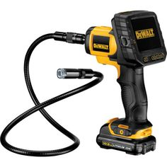 Dewalt dct410s1 10.8v cordless xr #inspection camera with 1.3ah #li-ion #battery,  View more on the LINK: http://www.zeppy.io/product/gb/2/161763339940/