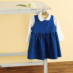 春夏秋冬いつでも着れるシンプルでかわいいワンピースの作り方(ベビー服)   ぬくもり