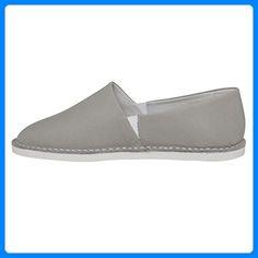 Leder Espadrilles SHW1170133 Farbe: grey, Größe: 37 - Espadrilles für frauen (*Partner-Link) Espadrilles, Partner, Summer Shoes, Slip On, Best Deals, Sneakers, Link, Shopping, Fashion
