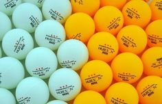 20pcs/lot Yellow and White  3-Star 40mm Table Tennis Balls Ping Pong balls