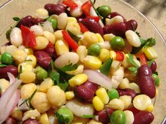 A healthy #organic #salad for a wholesome meal!
