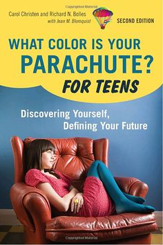 What Color Is Your Parachute? For Teens, 2nd Edition: Discovering Yourself, Defining Your Future by Carol Christen, Richard N. Bolles. Senior Title Choice. Presents advice for teenagers on landing a dream job.