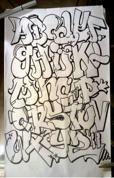 VK is the largest European social network with more than 100 million active users. Grafitti Letters, Graffiti Alphabet, Graffiti Lettering, Graffiti Piece, Graffiti Art, Graffiti Wildstyle, Hand Lettering Alphabet, Graffiti Wallpaper, Basic Drawing