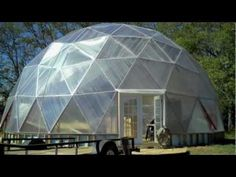 Covering the GeoDome Greenhouse - Northern Homestead