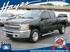 Used 2013 Chevrolet Silverado 1500 LT For Sale in Lawrenceville, GA | 1GCRKSE74DZ264679