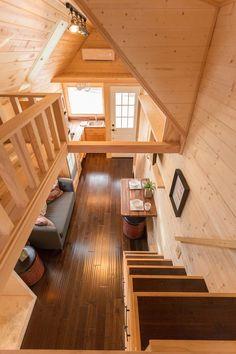 Porchlight Tiny Home – Hideaway Tiny Homes