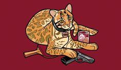 I DESPERATELY want this shirt!! #archer #meowschwitz