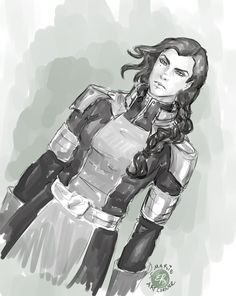 Kuvira -Legend of Korra by marieartcorner on DeviantArt