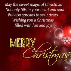 Merry Christmas Wishes, Messages, And Quotes Merry Christmas Wishes Messages, Merry Christmas Quotes, Xmas Greetings, Merry Christmas To You, Xmas Quotes, Sweet Magic, Dear Parents, Inspirational Quotes, Homemade Cards