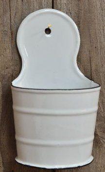 enamelware wall bucket $14.99
