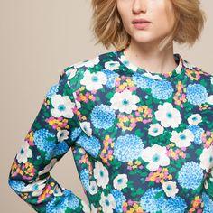 Sweat fleuri CARVEN Carven, Floral Tops, Blouse, Women, Fashion, Womens Fashion, Fashion Ideas, Moda, Fashion Styles