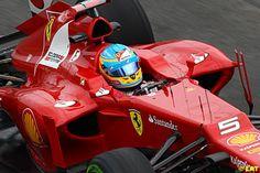 Alonso-Ferrari. Let's build up the hope. F1 Australian GP