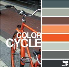 orange and grey