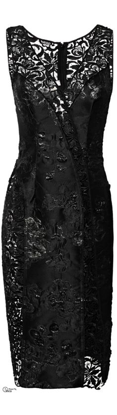 NINA RICCI Brocade Dress $3390 Sold Out... Fabulous....