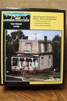 DESIGN PRESERVATION MODELS OUR HOUSE HO SCALE BUILDING KIT