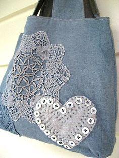 Grey Linen Bag by AllThingsPretty, via Flickr