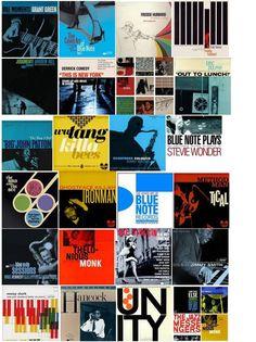 Vintage Blue Note Album Covers