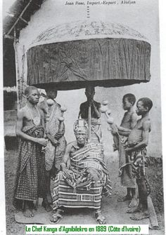 The Anyi people are a subgroup of the Akan, originally from Ghana, who fled the from the Ashanti tribe to their current location in present day Ivory Coast between the 16th and 18th centuries.