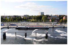 Auslaufen aus Kiel, AIDAcara