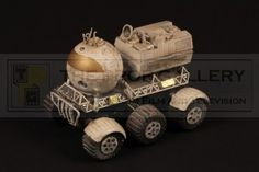 Moon buggy filming miniature