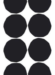 Roundet circles print.