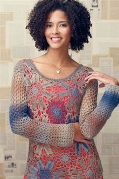 Crochet motifs are a great way to create crochet lace.