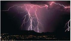 Lightning in Arizona