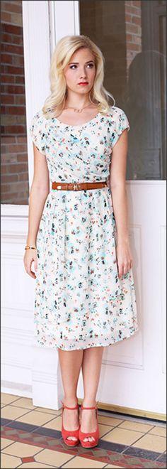 Jasmine Dress [MDS2145] - $64.99 : Mikarose Fashion, Reinventing Modest Fashion