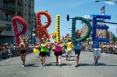 Celebrate Chicago Pride with a slew of festivals, LGBTQ parties, music and—of course—the annual Pride Parade. Chicago Pride Parade, Gay Aesthetic, Lgbt Love, Lesbian Pride, Lgbt Community, Human Rights, People, Prince, Celebrities