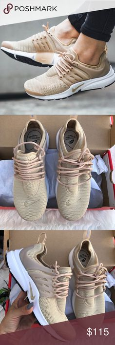 NIKE AIR PRESTO LINEN LIMITED EDITION COLOR Sz 8 NIKE AIR PRESTO LINEN COLOR SOLD OUT Sz 8 new 100% authentic! Itemcloset#seize Nike Shoes