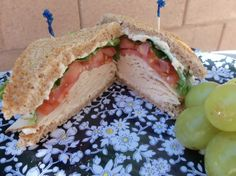 Turkey Focaccia Club W Special Cranberry Mayonnaise Recipe - Food.com