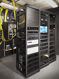Rack of Equipment for home theater