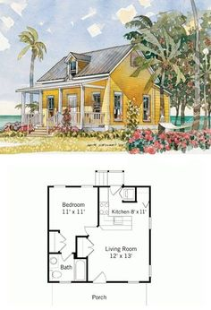 Tiny House Plans 643311128000291884 - By Moser Design. country, cottage, craftsman, bungalow, house plans by socorro Source by albertinesombre Bungalow House Plans, Craftsman House Plans, Small House Plans, House Floor Plans, Tiny Home Floor Plans, Studio Floor Plans, Unique Floor Plans, Craftsman Cottage, Bungalow Homes