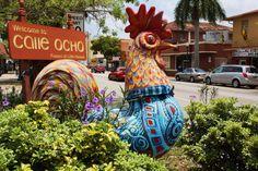 Colorful Little Havana in Miami