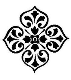 Accent Stencils , hi-res Stencils, Stencil Templates, Stencil Patterns, Stencil Designs, Moroccan Stencil, Moroccan Design, Tattoo Painting, Thinking Day, Tampons