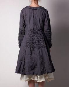 So cute - Ewa iWalla coat darkgrey