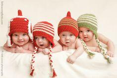 Cute as a Button: New Free Crochet Pattern! Earflap Hat, Free Pattern
