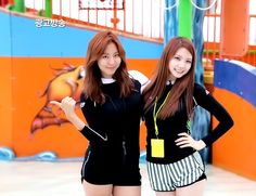 Kaeun and Uee Sooyoung, After School, Female