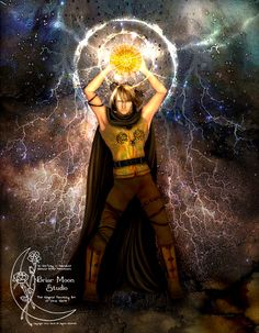 Lugh. Lugh's father is Cian of the Tuatha Dé Danann, and his mother is Ethniu, daughter of Balor, of the Fomorians.