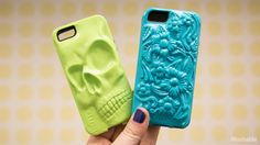 Embossed print design iphone case and cover