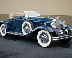 1930 Packard Custom Speedster - (Packard Motor Car Company Detroit, Michigan 1899-1958)