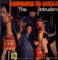 Cowboys to Girls - The Intruders Album Cover