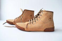 Top Sneakers Unisex  Handmade in Curried by MDesignWorkshop, €175.00