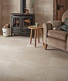 Hathor Cream Straight Cut Brushed 60x20 Tile