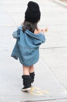 There she goes. Aila Wang #estella #kids #fashion