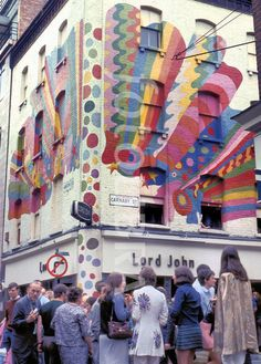 Carnaby Street in the 60s.