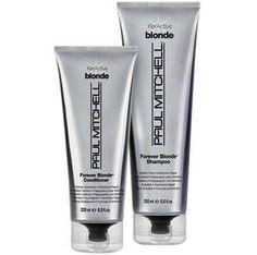 Teste e aprovei! Xampu e Condicionador Forever Blonde, Paul Mitchell http://bit.ly/18Z4Hzk