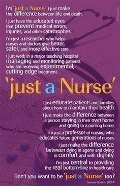 Not just a nurse