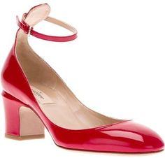 Valentino chunky heel pump